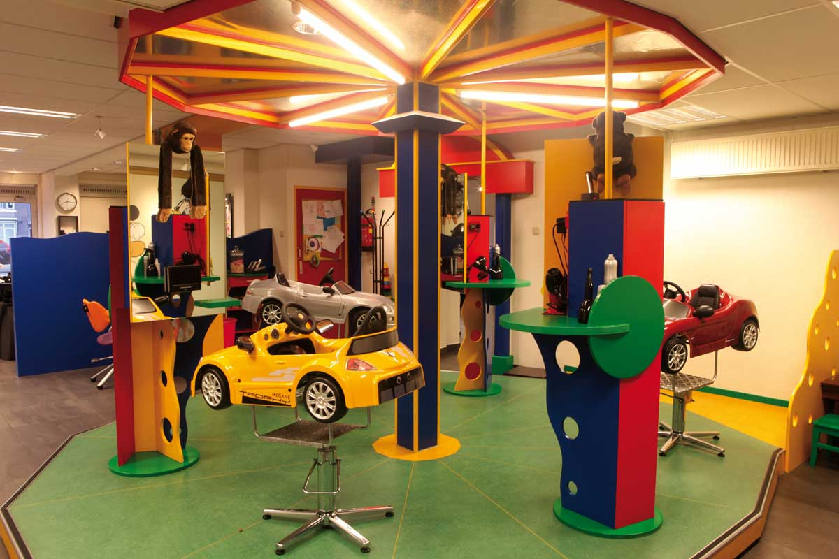Kinderkapsalon in Purmerend-Zaandam. Onze kinderkapsalon krijgt ook veel jonge bezoekertjes uit Amsterdam!
